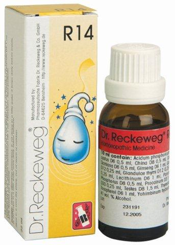 "R14 טיפות הומיאופתיות (22 מ""ל) - ד""ר רקווג Dr. Reckeweg"