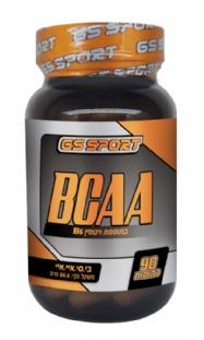 BCAA - חומצות אמינו מסועפות (90 כמוסות) - GS