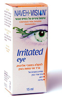 Irritated Eye  טיפות לגירוי בעיניים - נווה פארמה