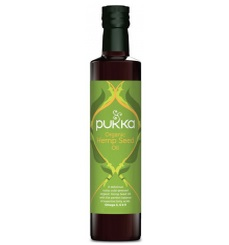 """שמן זרעי המפ אורגני (250 מ""""ל) - Pukka"""