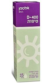 ויטמין D-400 בטיפות - אלטמן