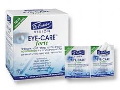 """מגבוני Eye Care Forte- ד""""ר פישר"""