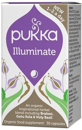 כורכום הארה (30 כמוסות) - illuminate Pukka