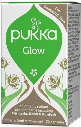 זוהר (30 כמוסות) פוקה - Pukka Glow