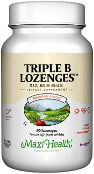 Triple B טריפל בי (90 טבליות מציצה) - Maxi Health  - חסר במלאי
