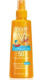 """קפיטל סוליי ספריי תחליבי לילדים (200 מ""""ל) VICHY SPF50"""