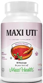מקסי UTI לדרכי השתן (60 קפסולות) - Maxi Health