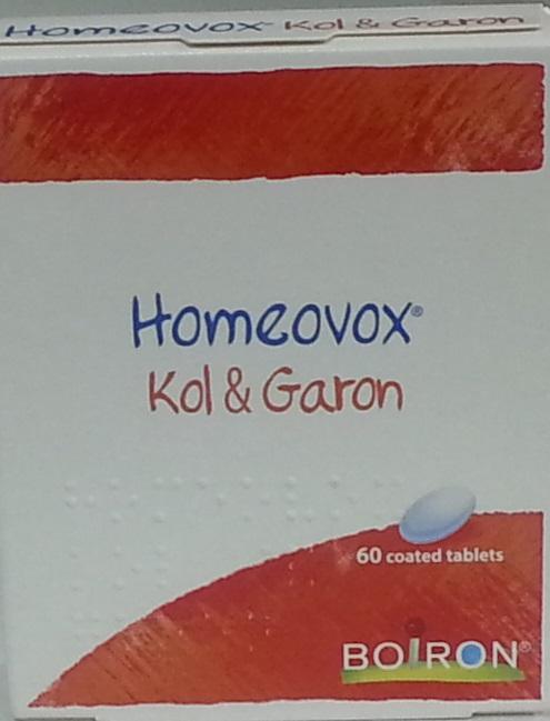הומאווקס קול וגרון (60 טבליות) - Homeovox