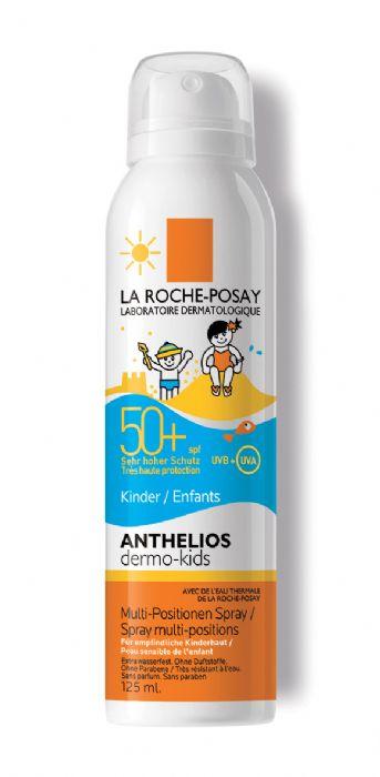 """לה רוש פוזה (125 מ""""ל) - אנתליוס – ספריי להגנה מפני קרינת השמש לילדים LA ROCHE POSAY ANTHELIOS SPRA"""