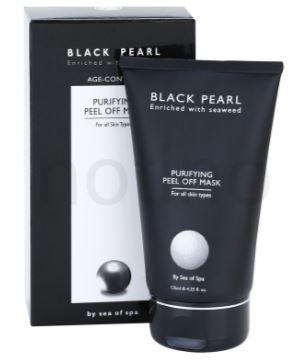 מסכת פילינג מזינה - Black Pearl