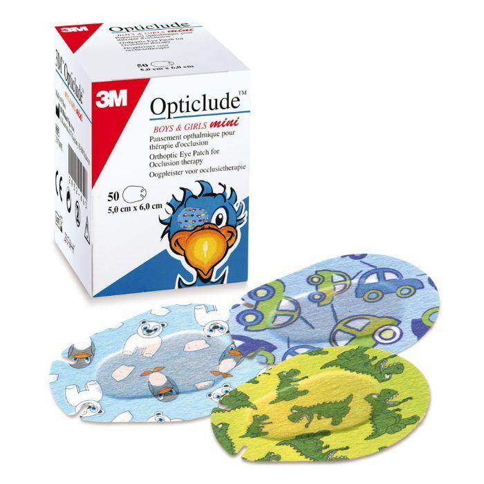 אופטיקלוד רטיות לילדים לטיפול בעין עצלה (20 יח') - 3M