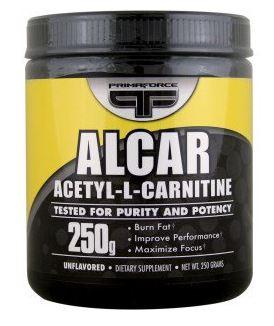 אבקת אצטיל ל-קרניטין (250 גרם) - ALCAR