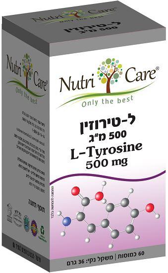 ל-טירוזין (60 כמוסות) - נוטריקר