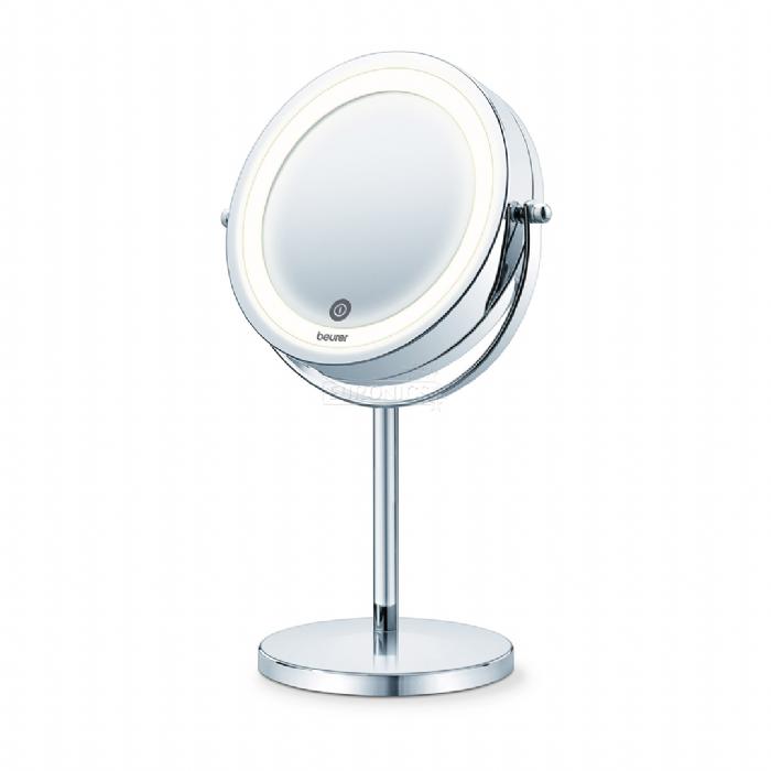 מאוד מראה שולחנית מגדילה עם תאורת LED אחורית - Beurer - BS55 | ביו-גאיה GY-76