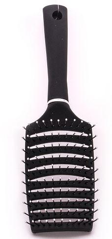 מברשת שיער להתרת קשרים צבע שחור