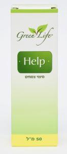 """תמצית Help למתחים (50 מ""""ל) - גרין לייף"""