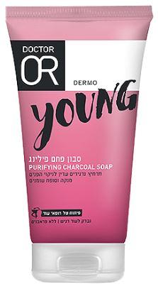 """סבון פחם פילינג לעור מעורב עד שמן (150 מ""""ל) - Dr. Or"""