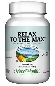 רילקס טו דה מקס (120 קפסולות) - Maxi Health