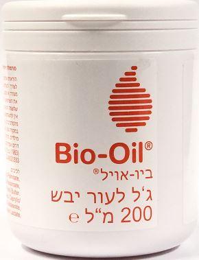 """ביו אויל ג'ל לעור יבש (200 מ""""ל) - Bio-Oil"""