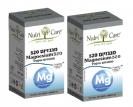 """מבצע - זוג  מגנזיום 520 מ""""ג (120 כמוסות) - Nutri Care"""
