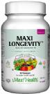 מקסי לונגויטי לאשה - מולטי ויטמין לנשים בגילאי 50+ (60 כמוסות) - Maxi Health