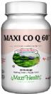"""מקסי Q10 שישים מ""""ג (60 כמוסות) - Maxi Health - חסר במלאי"""