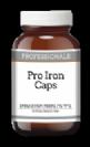 פרו אירון כמוסות ברזל עדין בתוספת ויטמינים וצמחים (100 כמוסות) - פרופשיונלס