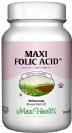 """חומצה פולית 800 מק""""ג (90 קפסולות) - Maxi Health"""