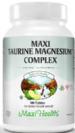 מגנזיום וטאורין קומפלקס (100 טבליות) - Maxi Health  - חסר במלאי