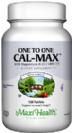 קלמקס 1x1 (מאה ועשרים טבליות) - Maxi Health  - חסר במלאי