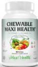 מולטי ויטמין למציצה לילדים (90 כמוסות) - Maxi Health