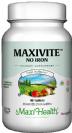 מקסי ויט ללא ברזל (90 טבליות) - Maxi Health  - חסר במלאי