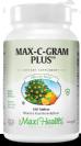 מקס סי גרם פלוס (180 טבליות) - Maxi Health - - חסר במלאי