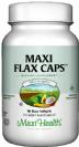 מקסי פלקס קאפס (90 כמוסות רכות) - Maxi Health Flax Caps - חסר במלאי