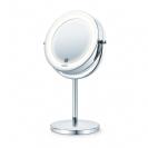 מראה שולחנית מגדילה עם תאורת LED אחורית - Beurer - BS55