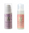 סבון פנים מקציף + קרם גוף - מיכל סבון טבעי