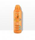 """ספריי דוחה חול להגנה על העור מפני נזקי השמש SPF50+ לשימוש על עור הפנים והגוף מיוחד לילדים (200 מ""""ל) - וישי"""