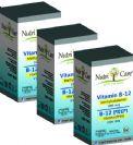 """שלישיית ויטמין B12 למציצה מתילקובלאמין 1000 מק""""ג (90*3 לכסניות) - נוטריקר"""