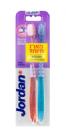 זוג מברשות שיניים טרגט סנסטיב - לרגישות בשיניים ובחניכיים Jordan Target Sensitive