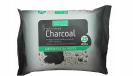 מגבונים Charcoal לספיחת רעלים וניקוי יסודי של הפנים בתוספת פחם פעיל (25 יחידות) - Beauty Formulas