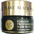 """מסכת שיער קרטין מקצועית (250 מ""""ל) - Black Pearl"""
