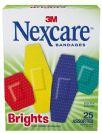 נקסקר ברייטס פלסטרים צבעוניים (25 יחידות) - Nexcare