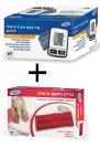 מד לחץ דם דיגיטלי מטריקס 1000 + כרית חימום/קירור אישית מתנה