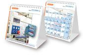עיצוב לוח שנה שולחני