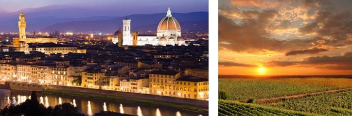 טיול זוגי רומנטי בפירנצה