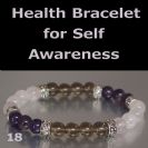 SELF AWARENESS Bracelet- Smokey Quartz, Amethyst and Rose Quartz