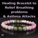 Relief Breathing problems & Asthma Attacks – Healing Gemstones Bracelet