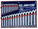 סט מפתחות רינג פתוח - KING TONY