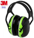 אוזניות נגד רעש דגם X4A מבית 3M
