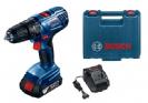 מקדחה/מברגה GSB 180-LI 19F8.300 + סוללה 1.5AH מבית Bosch